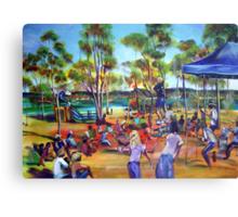 NO 8 Artmix Tin Can Bay THE GREAT SCOTT  Canvas Print