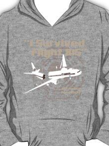 """I Survived Flight 815"" But I'm Not Dead Sure? (BROWN) T-Shirt"