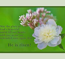 """""""He is Risen"""" by Delores Knowles"""