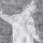 Cristiano Ronaldo by gazevans