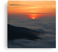 Sunrise, Shenandoah National Park Canvas Print