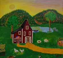 Summer Farm by Norma Ramey