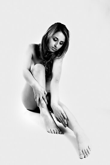 photosketch nude by Andrew Jones