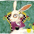 wonderland bunny by Ruth Fitta-Schulz