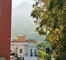 Calabria: Noon at Stromboli Village by Friederike Alexander