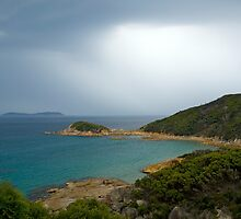 Approaching storm,Wilsons Promontory, Victoria by johnrf