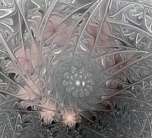 Jack Frost's Ice Painting by Bunny Clarke