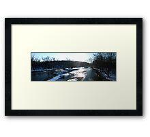 A River Runs Through It... Framed Print