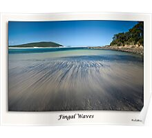 Fingal Waves Poster