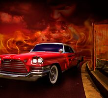 Christine - 1960 Chrysler 300 by Mark Richards