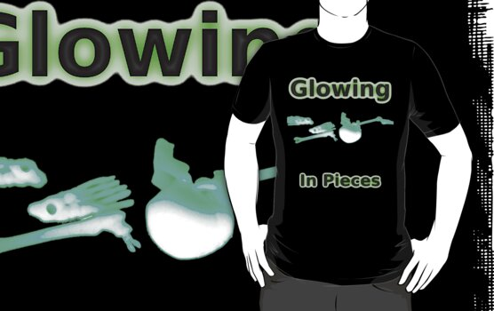 Glowing - In Pieces by Bernie Stronner