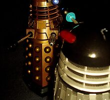 Dalek Double Take by ADzArt