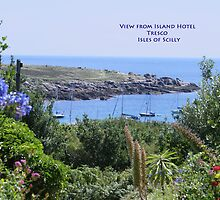 Tresco Island by Yvonne Falk Ponsford