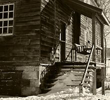 SUN ON THE OLD FRONT PORCH by Diane Peresie
