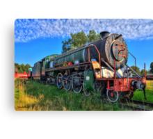Old Steam Loco Canvas Print