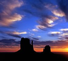 Monument Valley #16 by Mike Norton