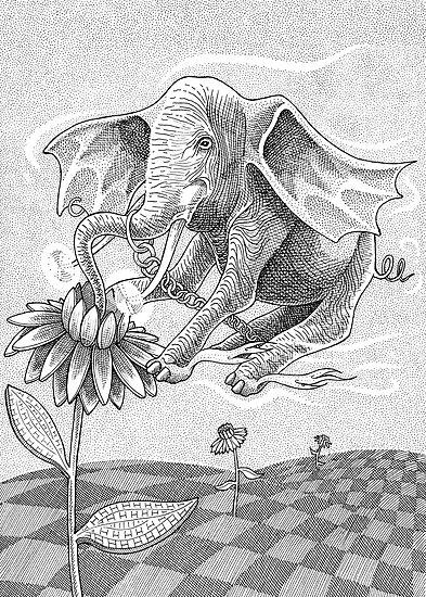 Elephant Bee by Gavin L. O'Keefe
