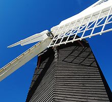 Windmill at Brill Hill by Katieshires