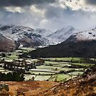 Storm Over the Head of Borrowdale, Cumbria by David Lewins LRPS