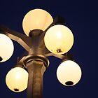 Street Lights Downtown by Tanayri