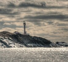 Ominous Lighthouse by Debbie  Roberts