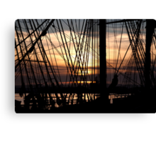 Knot for Sail Canvas Print