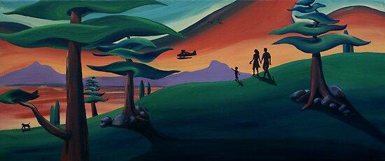 Seaplane by Sarah  Mac