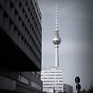 Early morning trek to the Fernsehturm. by Gavin Craig