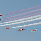 Red Arrow Display, Galway City by Mark  Attwooll