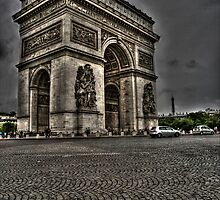 The Arc de Triomphe de l'Etoile by Paul Thompson Photography