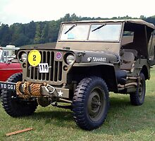 Willys Jeep by Willie Jackson