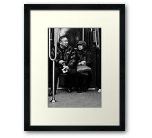 The couple Framed Print