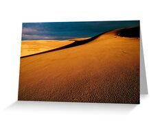Guadalupe Dunes sunset, winter solstice... Greeting Card