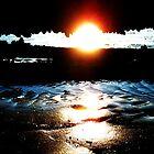 Sunset Ballyholme by 23kurtz