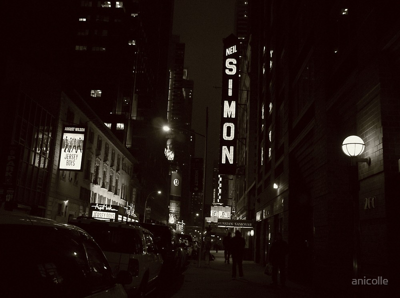 Broadway nights by anicolle