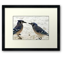 Peace Meal Framed Print