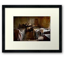Kate's Cottage ~ Bedroom Framed Print