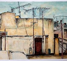 Athens Rooftops 2 by Emma Brooks