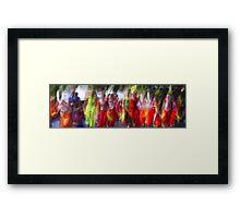 the colour of dance Framed Print