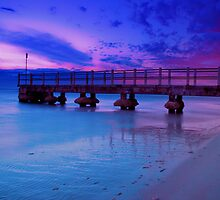 Sunset @ Chelsea Pier, VIC by MickDodds