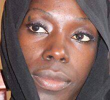 Tuareg girl by Ingolf Andersen