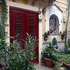 The Red door by Lucinda Walter