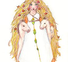 epona celtic horse goddess by freyasgarden