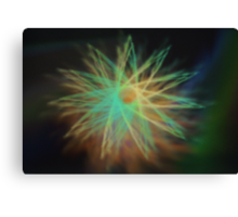 Electrical Star Canvas Print