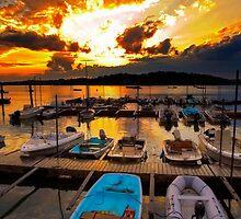 Stony Creek Sunset by Bruce Taylor