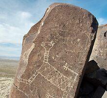 Three Rivers Petroglyph Site by Gary Cascio