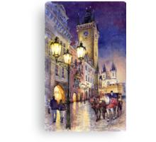 Prague Old Town Square 3 variant Canvas Print