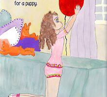 Big Red Balloon by Rosalie Scanlon