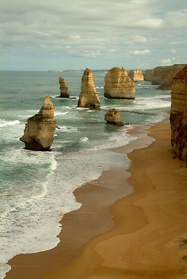 Patterns,Twelve Apostles Great Ocean Rd by Joe Mortelliti