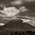 Mt. Ngauruhoe - New Zealand ... aka Mt. Doom - Middle Earth by Jeff Catford